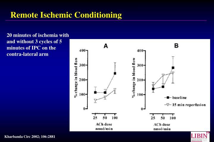 Remote Ischemic Conditioning