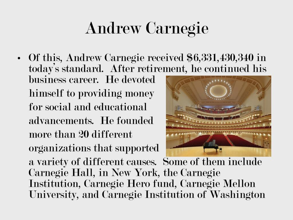 PPT - Andrew Carnegie and the Steel Mills PowerPoint