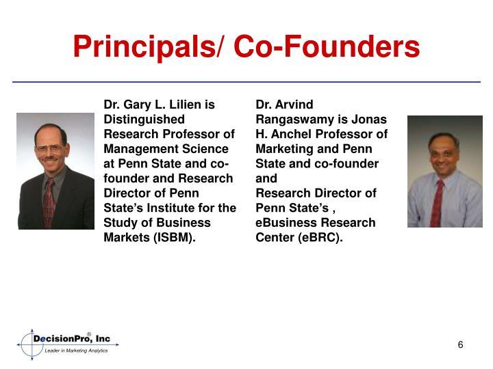 Principals/ Co-Founders