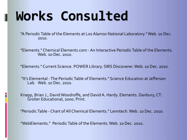 Ppt what is xenon powerpoint presentation id5165710 works consulted a periodic table urtaz Images