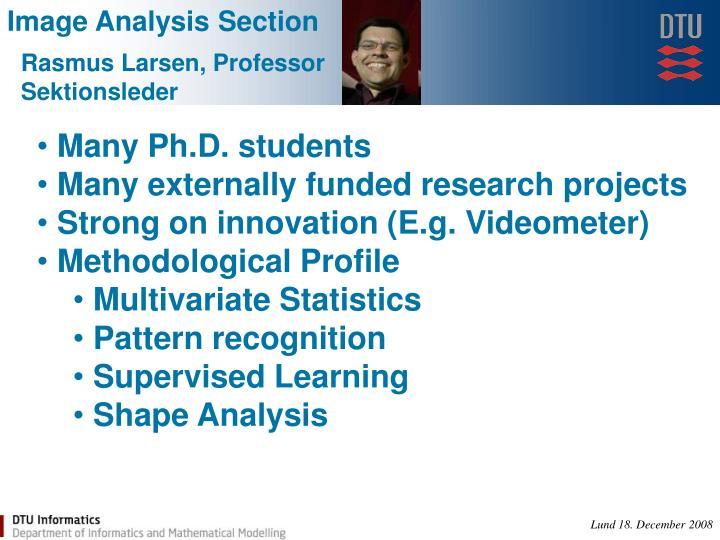 Image Analysis Section