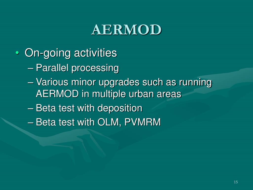 How To Run Aermod