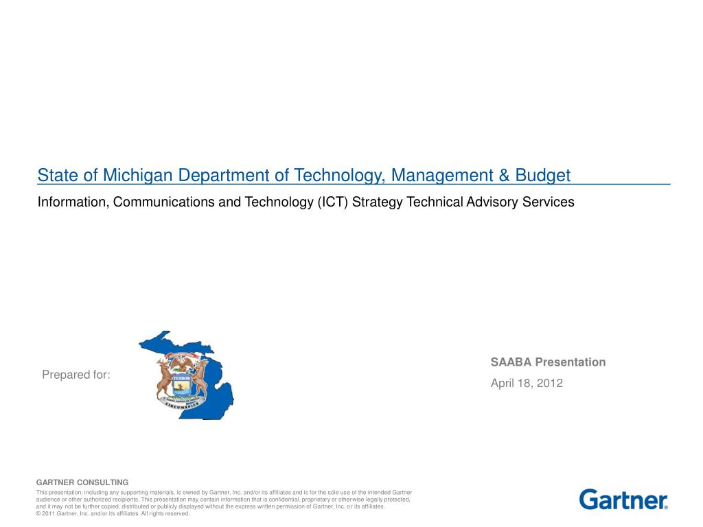 Ppt State Of Michigan Department Of Technology Management