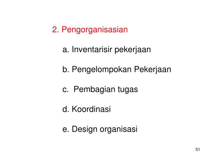 Pengorganisasian