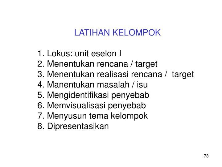 LATIHAN KELOMPOK
