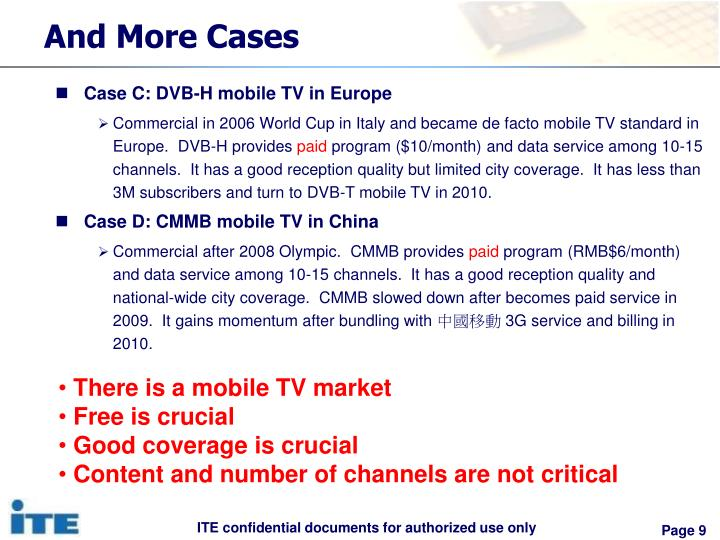 dvb h the emerging standard for Dvb-h: technical overview and design requirements for  handhelds is emerging as a digital broadcasting standard for handheld devices since  the dvb-h standard .