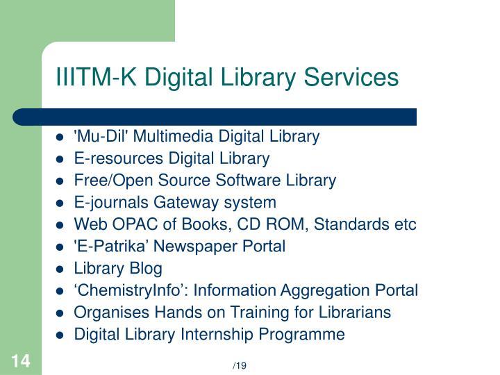 IIITM-K