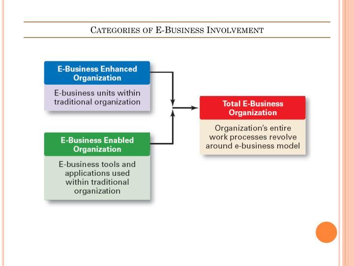 Categories of E-Business Involvement