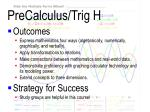 precalculus trig h1