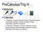 precalculus trig h2