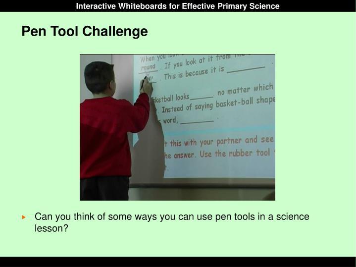 Pen Tool Challenge