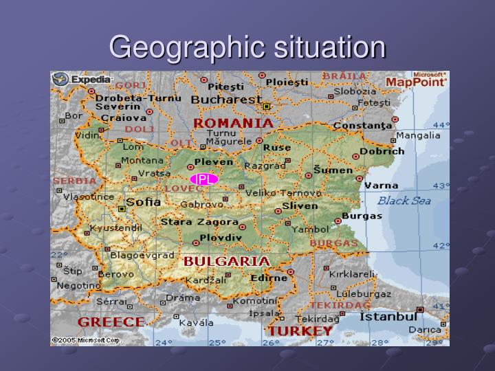 Geographic situation