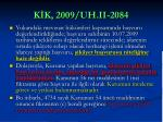 k k 2009 uh ii 2084