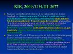 k k 2009 uh iii 2077