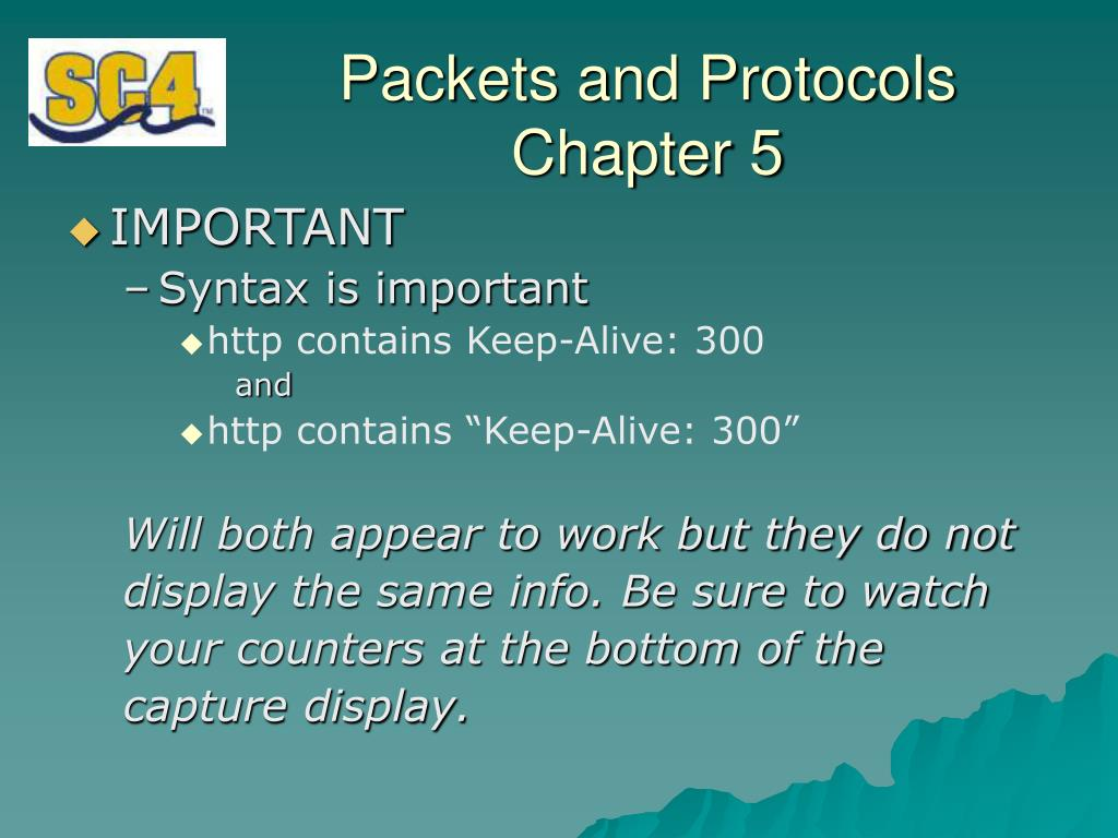 PPT - Packets and Protocols PowerPoint Presentation - ID:5168258