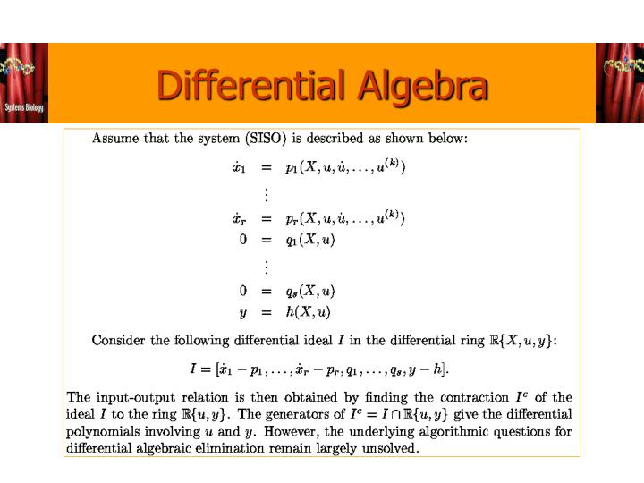 Differential Algebra