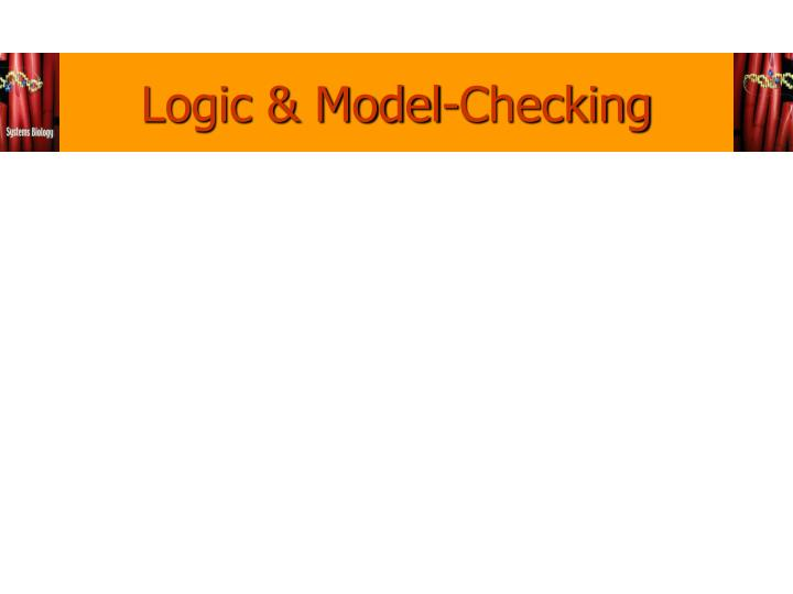 Logic & Model-Checking