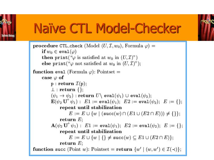 Naïve CTL Model-Checker
