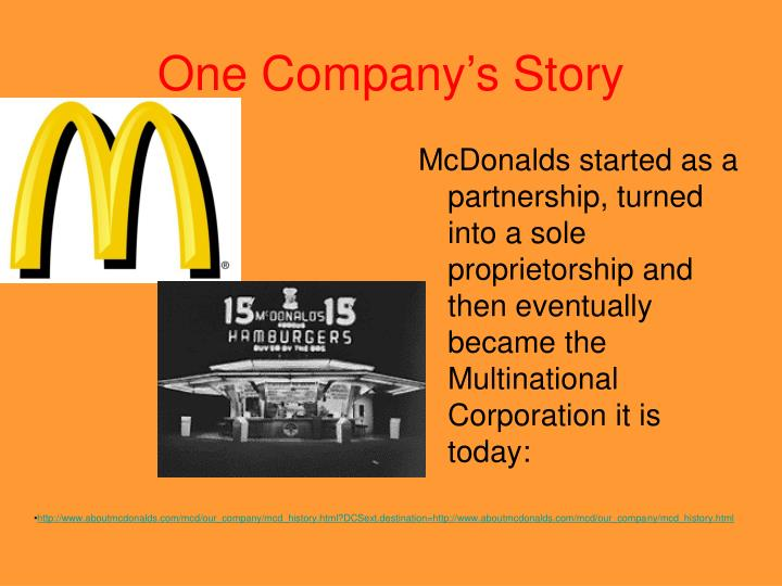 One company s story