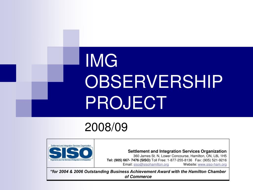 Ppt Img Observership Project Powerpoint Presentation Id 5168450