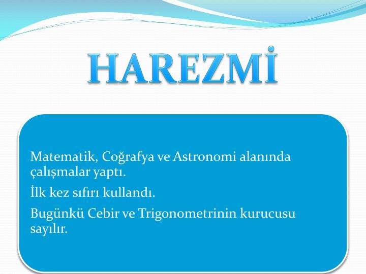 HAREZMİ