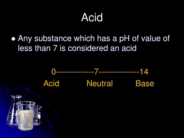 separation of acidic and neutral substances