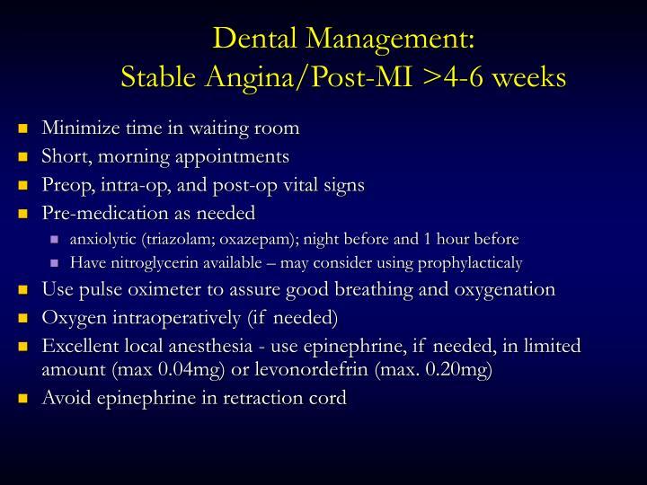 Dental Management: