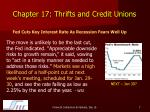 chapter 17 thrifts and credit unions5