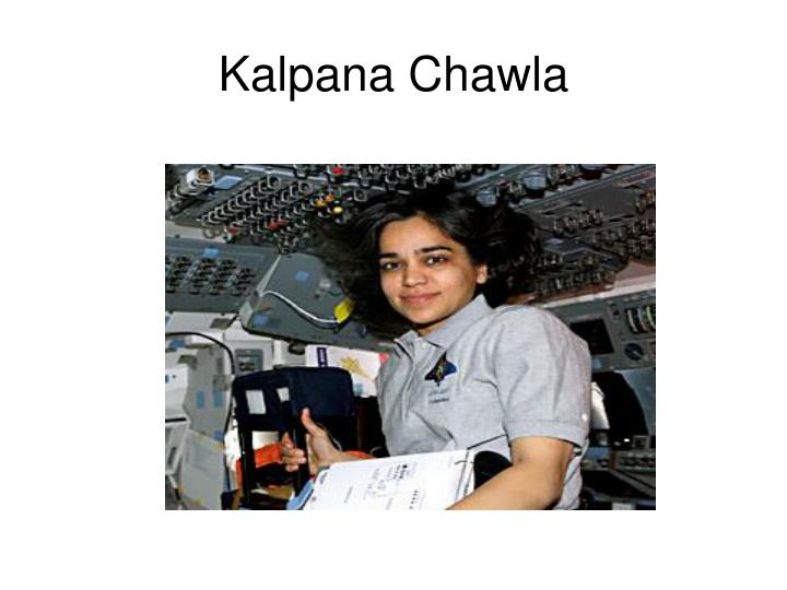 Kalpana Chawla