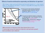effects of neutrino antineutrino asymmetry and distortion of spectrum