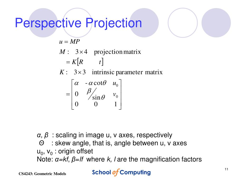 PPT - Geometric Models & Camera Calibration PowerPoint