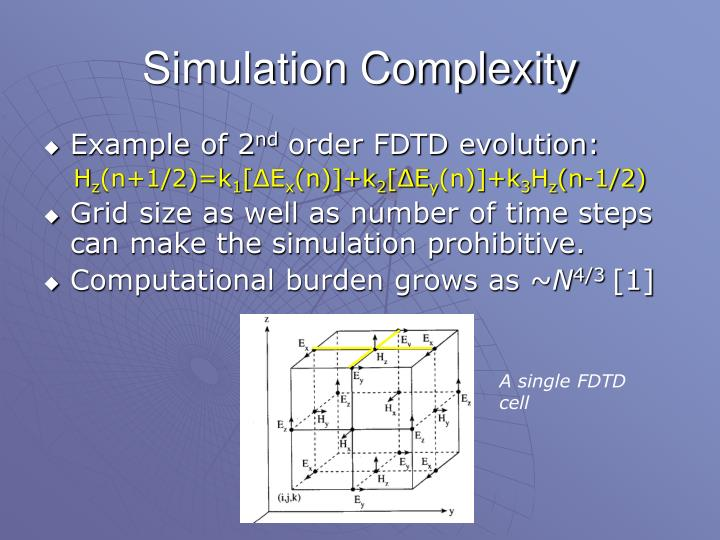 Simulation Complexity