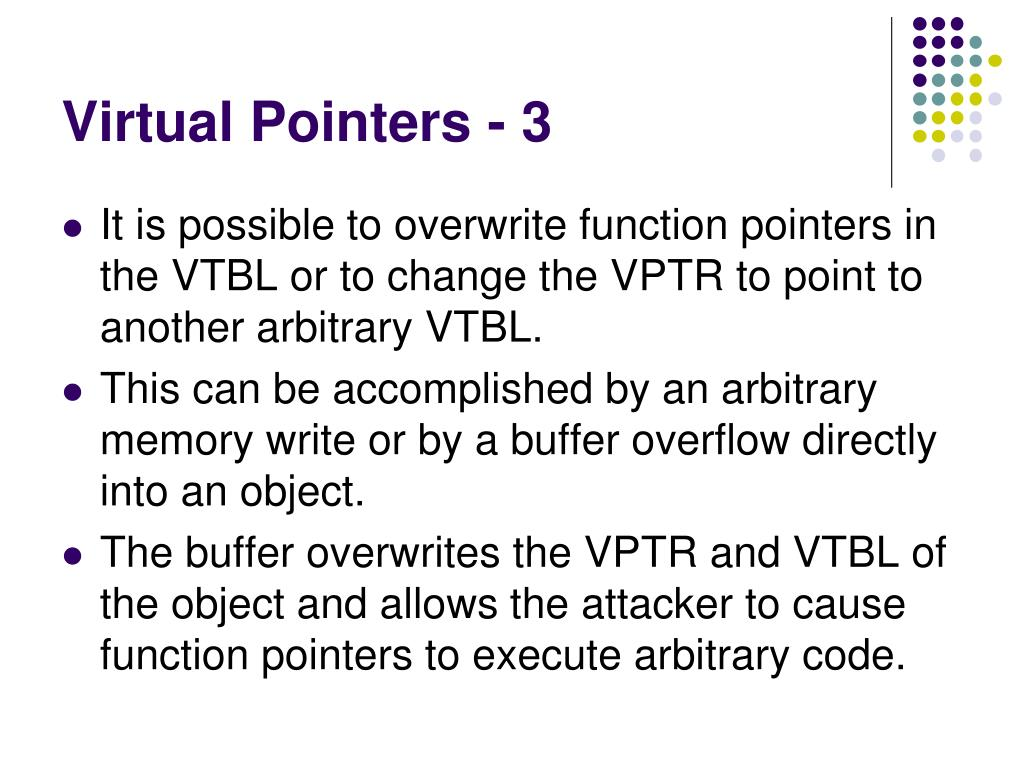 PPT - Secure Coding in C and C++ Pointer Subterfuge