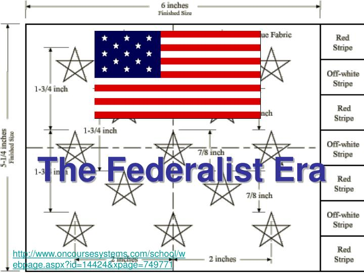 federalist era 78 chapter 5 the federalist era: nationalism triumphant anticipation/reaction directions: before you begin reading this chapter, place a check mark beside any of the following.