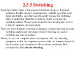 2 5 5 switching