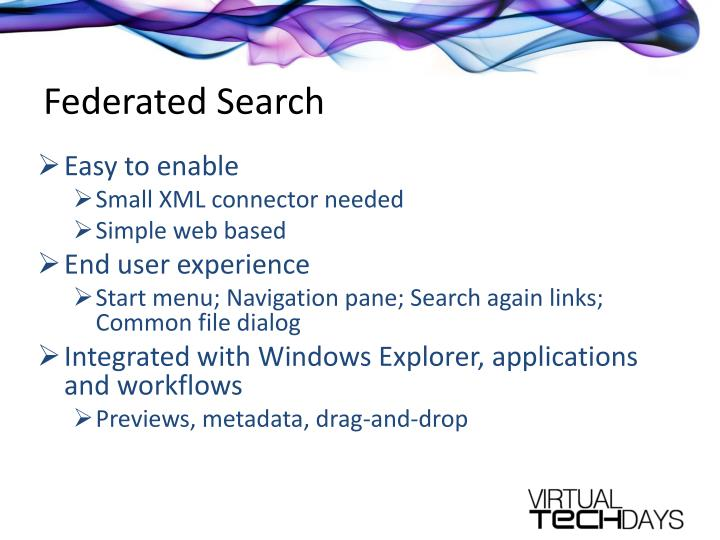 Federated Search