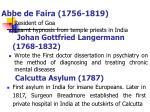 abbe de faira 1756 1819