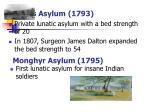 madras asylum 1793