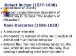robert burton 1577 1640