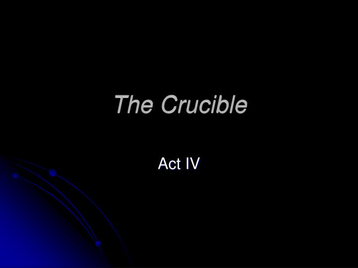 the setting and plot overview of the crucible The crucible arthur miller background this story is about witches it takes place in salem, massachusetts in 1692 salem was a town where the people were puritans and really strict.