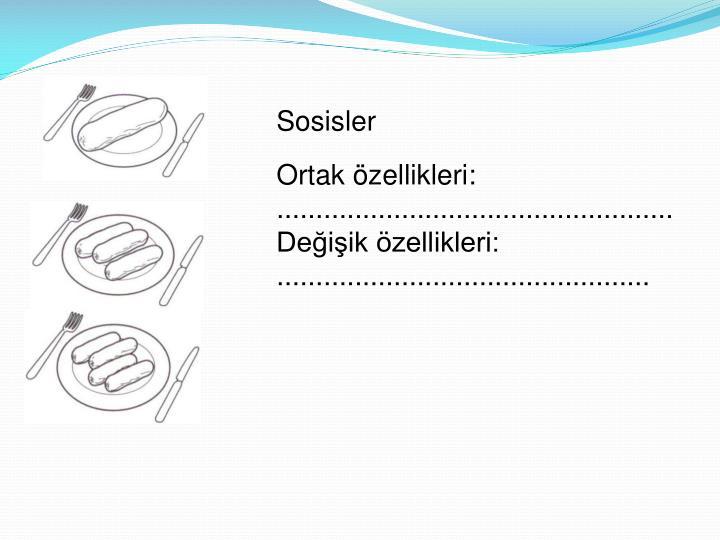 Sosisler