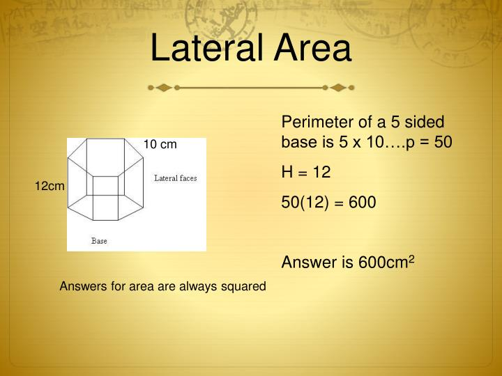 Surface area and volume notes pdf