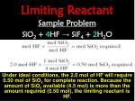 limiting reactant5
