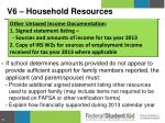 v6 household resources1