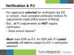 verification pj