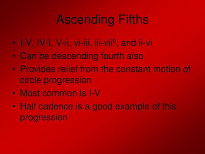 Ascending Fifths