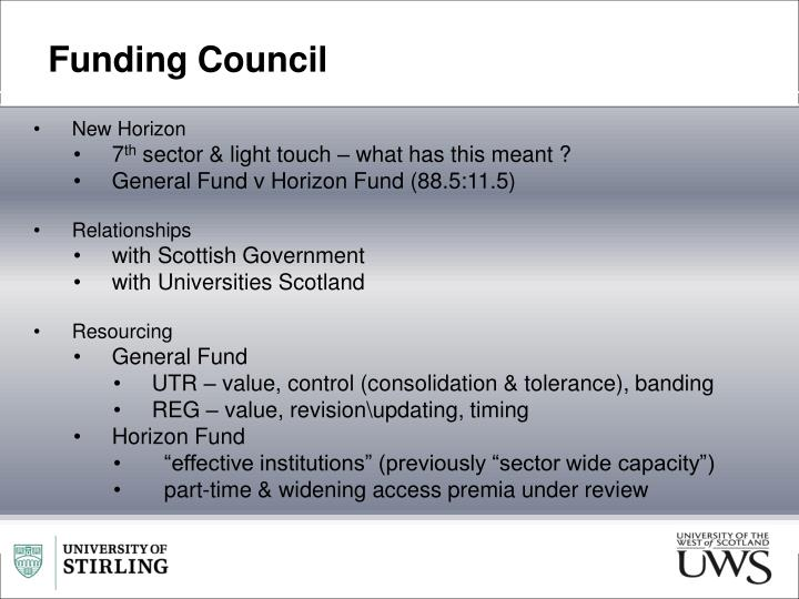 Funding Council