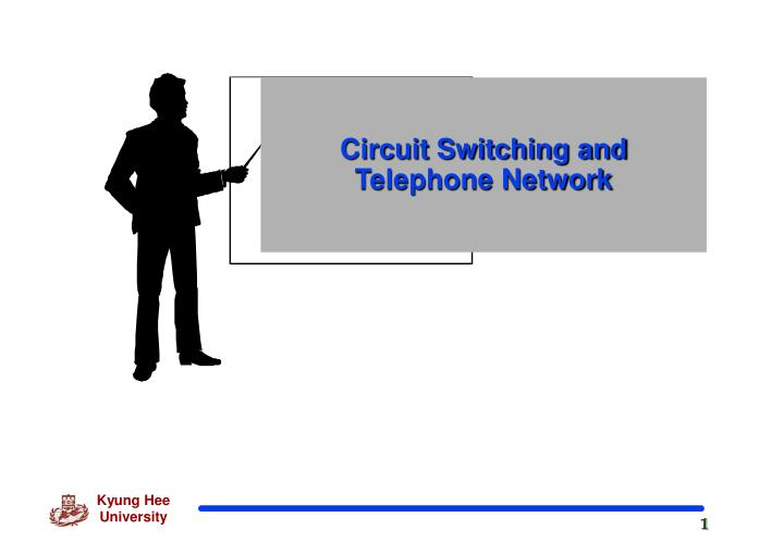 circuit switching and telephone network n.
