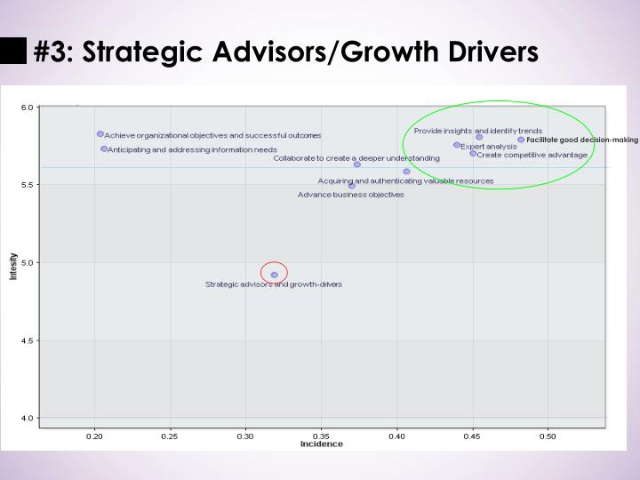 #3: Strategic Advisors/Growth Drivers