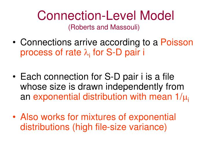 Connection-Level Model